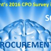 "Ardent's Annual CPO Survey is Live (""The Art & Science of Procurement"")"