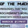 Rise of the Machines: The Five Technologies That Will Disrupt Procurement's World